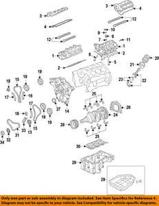Details about KIA OEM 14-16 Sorento-Engine Timing Camshaft Cam Gear on bmw z3 engine timing diagram, kia sorento engine schematic, kia sorento timing chain diagram,
