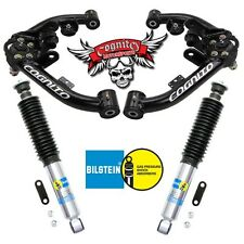 01-10 Cognito Chevy 2500 HD 3500 8-Lug Upper Control Arms Kit Ft Bilstein Shocks