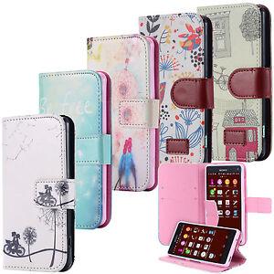 Housse-Wallet-Coque-Case-Motif-Cover-Portefeuille-Pochette-Etui-Sony-Xperia