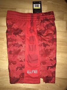 online store ad8e1 d42cd Image is loading Boys-Nike-Elite-Shorts-Size-Small-BNWTS-in-