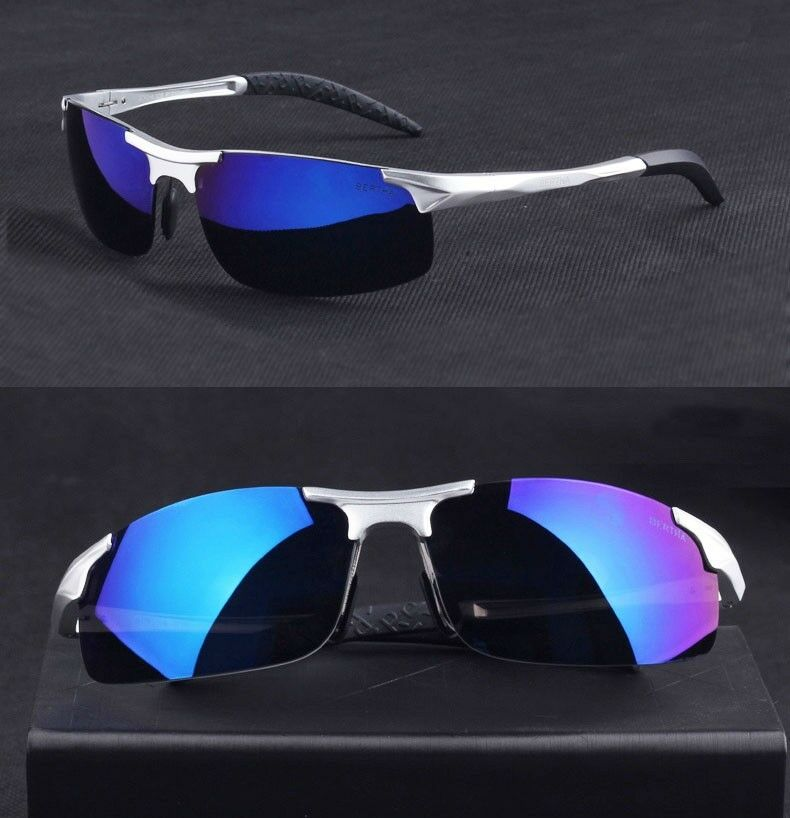 Agstum Outdoor Sport Polarized bluee Mirrored  Sunglasses Cycling Goggles Bicycle  2018 latest