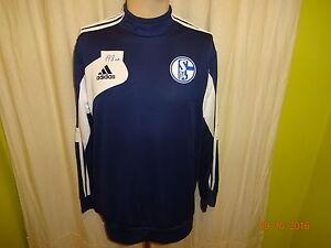 FC-Schalke-04-Original-Adidas-Spieler-Sweatshirt-Pullover-2013-14-Gr-L-TOP