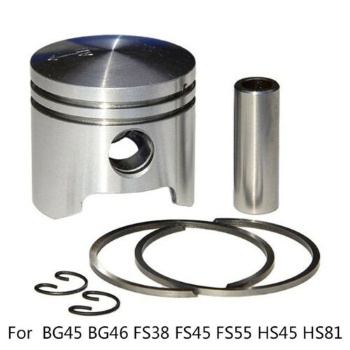 34mm Piston Kit For Stihl BG45 BG46 FS45//FS55 HS45//HS81 Trimmer Blower Models