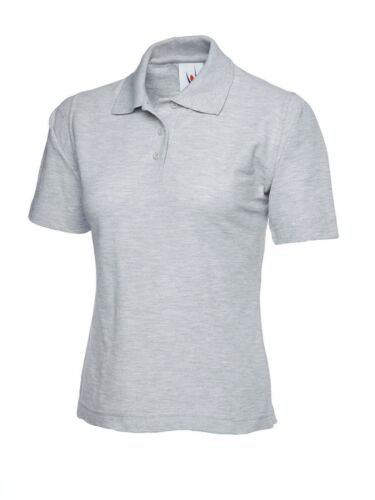 5 PACK Womens Classic Polo Shirt Ladies Short Sleeve Work Poloshirt Casual TOP