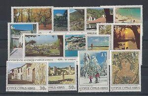 1985 Cyprus Scenes SG 648/52 MUH Set of 15