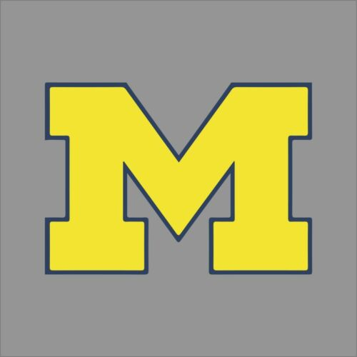 Michigan Wolverines NCAA College Vinyl Sticker Decal Car Window Wall