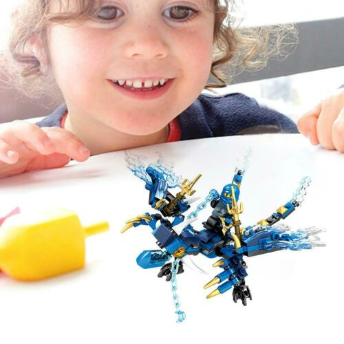 Building Blocks Compatible with Brick Figures for Ninja Dragon Knight Model