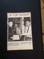 72-4 Ephemera 1969 Picture Tony Shepherd 1st Birchington Scouts Top Scout