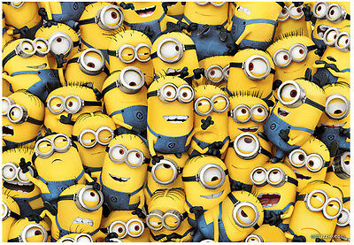 "/""Minions/"" Jigsaw Puzzles 2000 Pieces Small Pcs"