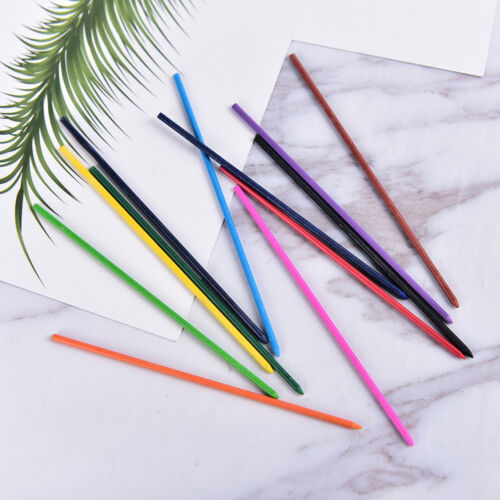 2.0mm 2B Colored Pencil Lead 2mm Mechanical Clutch Refill Holder 12 Colors SetVP