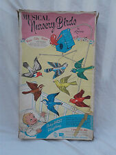 Kenner Musical Nursury Birds Mobile Infant Baby Toy IN BOX Antique VTG 1950s Old