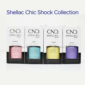 CND-Shellac-Chic-Shock-Collection-UV-Gel-Nail-Polish-Color-7-3ml-25oz-Pick-ANY