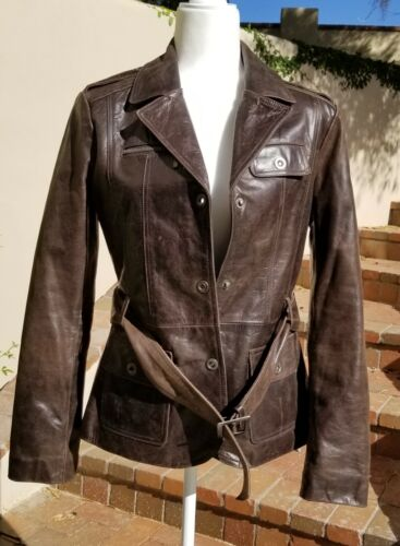 Woman's Authentic Ventiuno buffalo leather jacket,