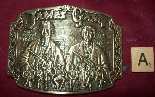 AWARD DESIGN MEDALS PRESENTS THE JAMES GANG FIRST EDITION 042