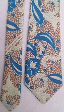 -AUTHENTIQUE cravate cravatte  GIVENCHY 100% soie  NEUVE  vintage