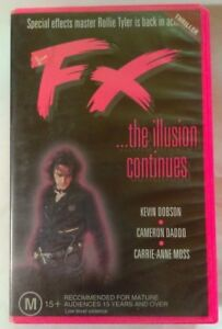 FX-The-Illusion-Continues-VHS-1995-Thriller-Paul-Lynch-RocVale-Large-Case
