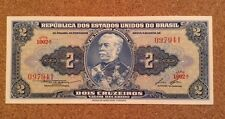 Brazil Banknote. 2 Dollars. Dated 1958.