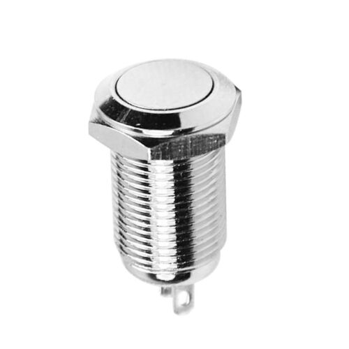 10mm Power Push Button Stainless Steel ON//OFF Switch