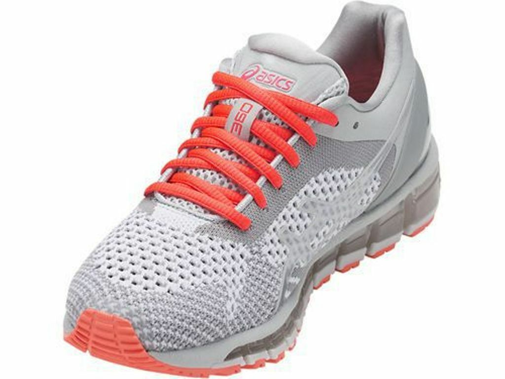 NEW WOMENS ASICS GEL-QUANTUM 360 KNIT RUNNING TRAINING SHOES - 7   EUR 38  200