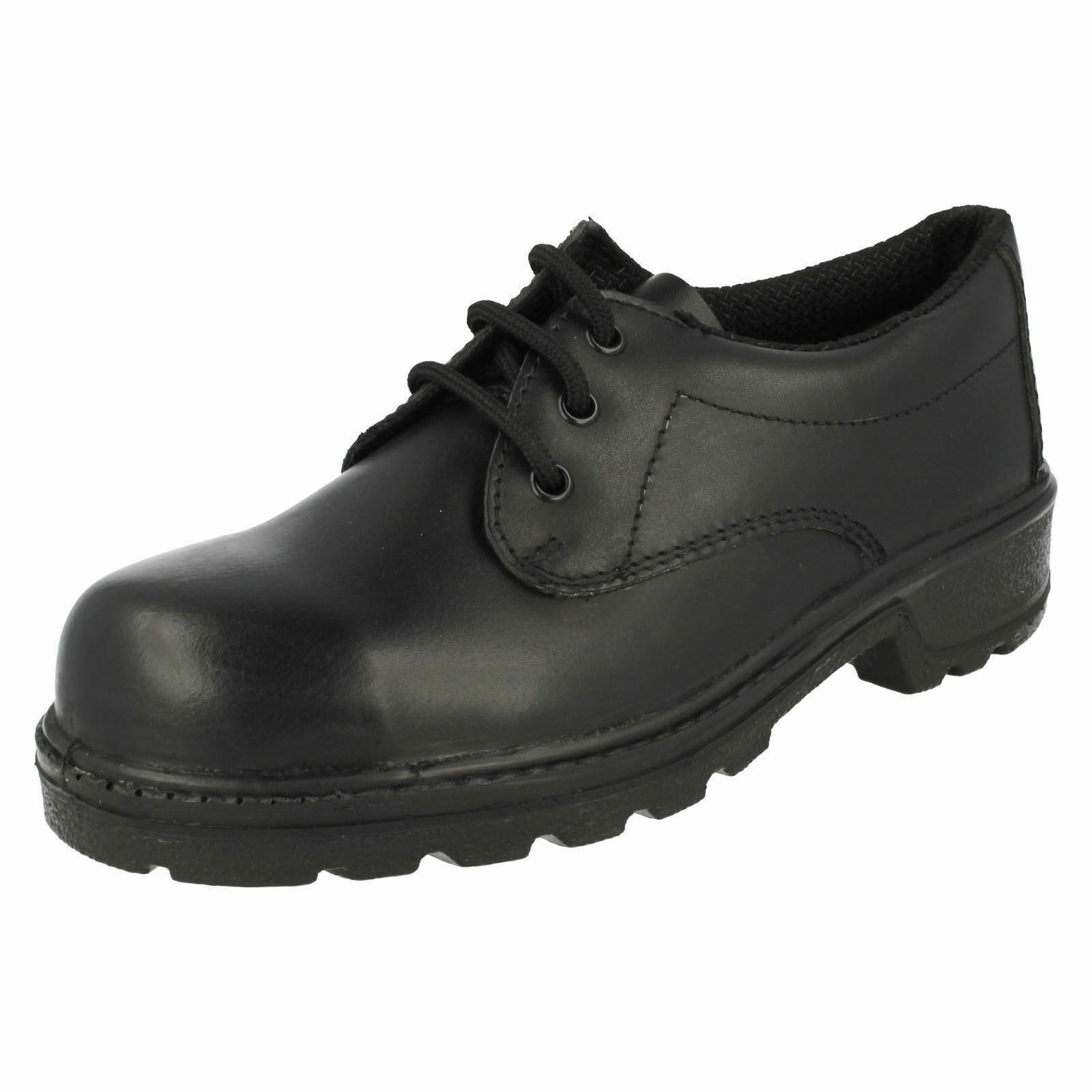 SALE Ladies steel toe black work shoes brand totectors style 3038