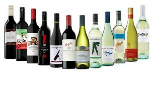 Dinner Party Sampler Mix Wine Pack - 12 x 750ml Free and Fast Delivery