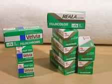 (9) Roll Assortment of Fuji Outdated 120 Film