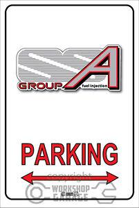 Parking-Sign-Metal-Holden-Brock-vl-walky-group-a-logo