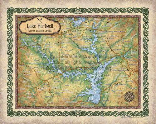 Lake hartwell lake art lake life lake house hartw Georgia lakes lake gifts