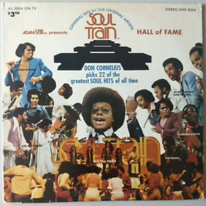 "Soul Train ""Hall Of Fame"" LP Vinyl Record album Adam VIII Ltd. ‎AVIII 8004 1973"