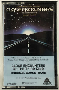 Close-Encounters-Of-The-Third-Kind-Original-Soundtrack-Cassette-Tape-ATC-9500