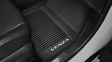 KUST Rear Trunk Mat for Toyota/Venza 2020 2021 Cargo Liner TPO All Weather Trunk Cargo Mat for Venza