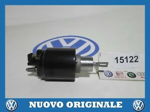 Electromagnet Engine Start Solenoid Switch Starter Original VW Polo 1999