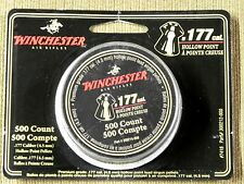 WINCHESTER .177 Cal HOLLOW POINT PELLETS 500 each in Round Tin 9.75 grains