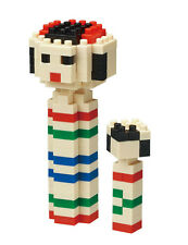 Kokeshi Nanoblock Micro Sized Building Block Construction Brick Kawada NBC210