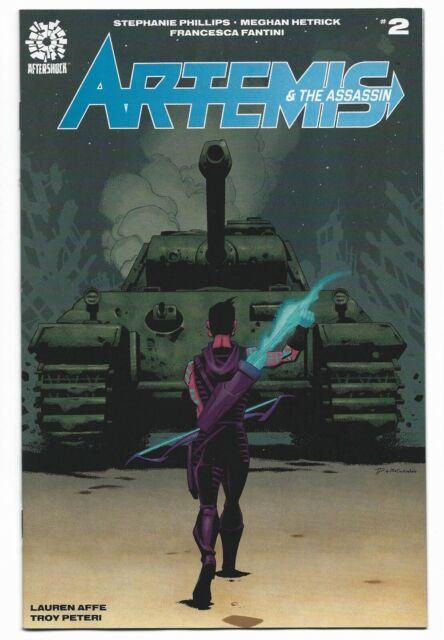 Artemis & the Assassin #2 2020 Unread Phil Hester Main Cover A Aftershock Comics