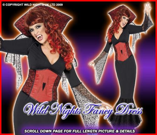 HALLOWEEN FANCY DRESS # GOTHIC MISS WIDOW M SIZE 12-14