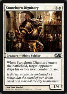 Stonehorn-Dignitary-x4-Magic-the-Gathering-4x-Magic-2012-mtg-card-lot