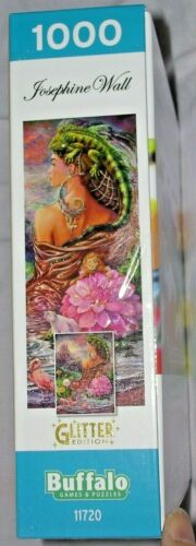 Details about  /Sealed Josephine Wall The Untold Story 1000 Puzzle Pieces Poster Glitter Woman