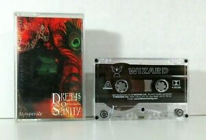 Vintage-Dreams-Of-Sanity-Cassette-Tape-Masquerade-1999-Gothic-Metal