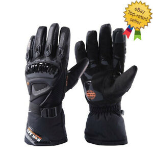 Motorcycle Gloves Men Touch Screen Winter Warm Waterproof Protective Gloves Ebay