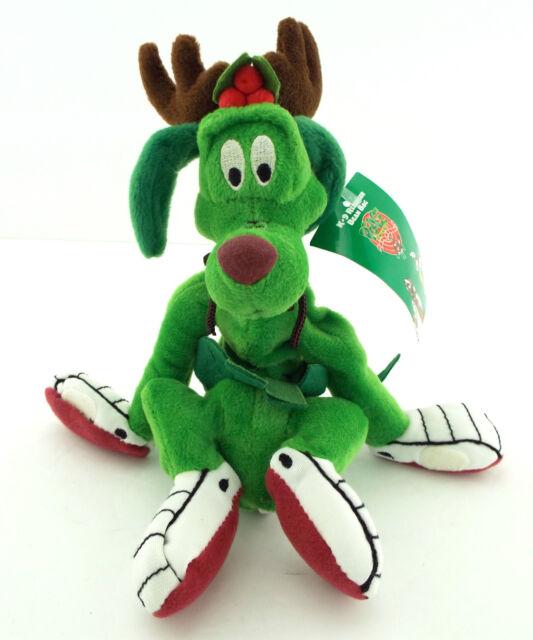 NWT K-9 DOG Reindeer Marvin The Martian's Pal Bean Bag Plush