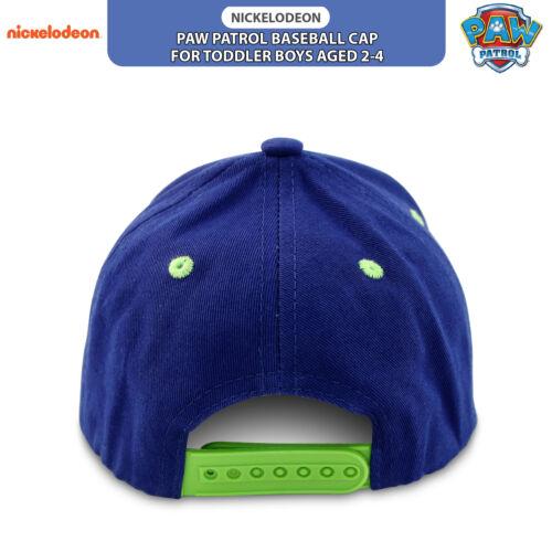 Nickelodeon Toddler Boys Paw Patrol Character 3D Pop Baseball Cap Age 2-4