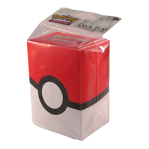 Ultra-Pro-Pokemon-TCG-Poke-Ball-Deck-Box-Card-Storage-Holder-With-Divider