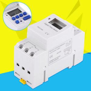LCD-Programmateur-Minuterie-Numerique-Hebdomadaire-Commutateur-De-Relais