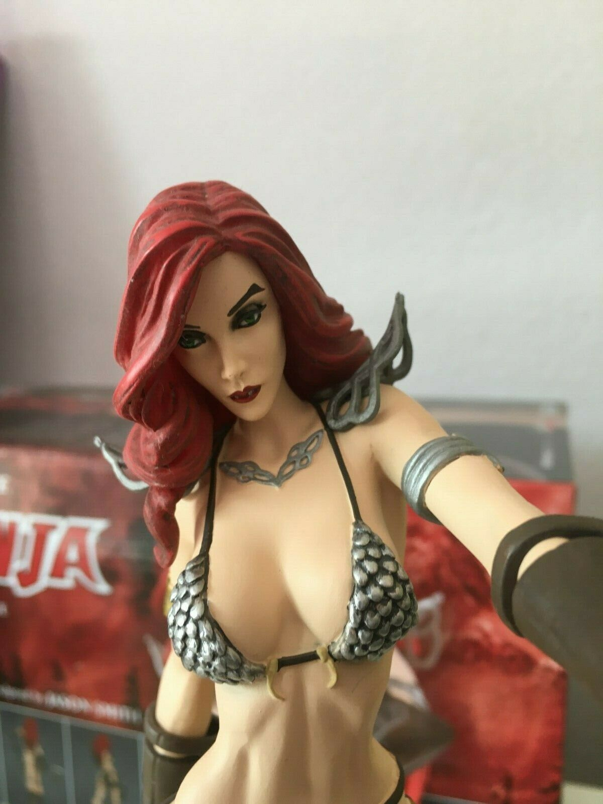 Women Of Of Of Dynamite Red Sonja Statue 1 6 88cdf4
