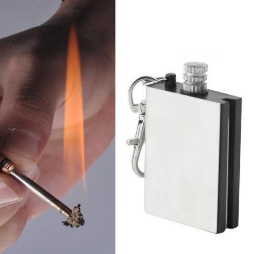 1x Emergency Fire Starter Flint Match Lighter Outdoor Campings Survival Tools hn