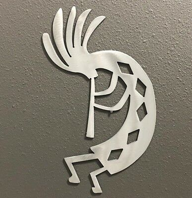 Alien Head Metal Wall Art Raw Metal Polished Skilwerx 9 x 6 Area 51