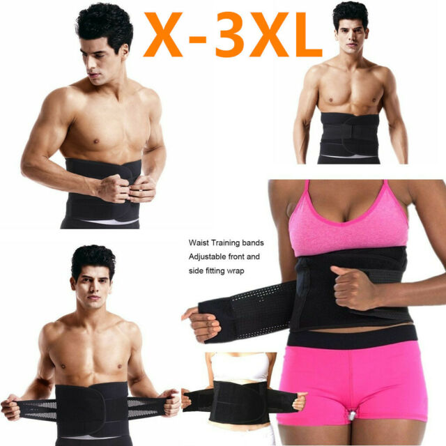Slimming Belt Men Womens Body Waist Shaper Girdle Adjustable Tummy Tuck Fat Slim