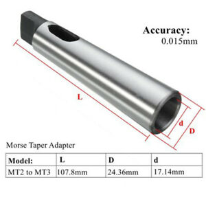 Best-MT2-To-MT3-Morse-Taper-Reducing-Adapter-Drill-Sleeve-For-Lathe-Milling-Tool