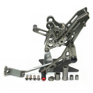 For-Honda-Grom-MSX125-2013-2014-2015-2016-CNC-Rearsets-Foot-Pegs-Rear-set-GREY